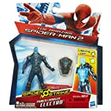 Marvel Amazing Spider-Man 2 Spider Strike Power Charged Electro Figure