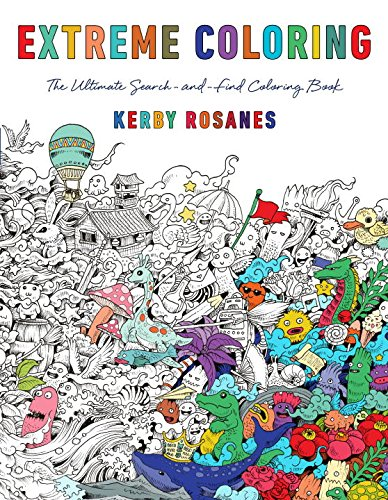 35 Kerby Rosanes Coloring Books Free Printable Coloring Pages