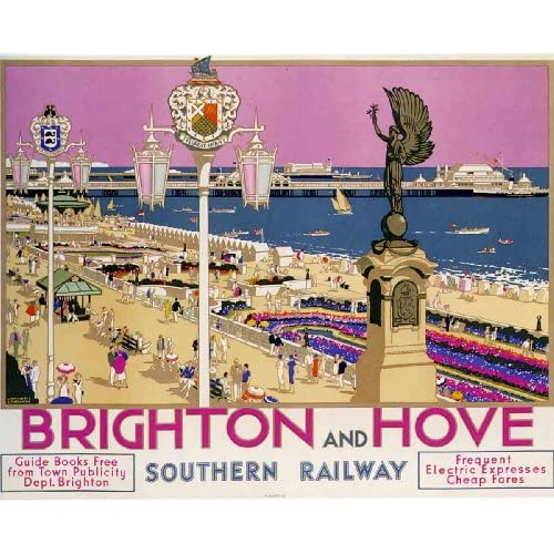 Amazon.com: Brighton Hove Southern Railway Kenneth
