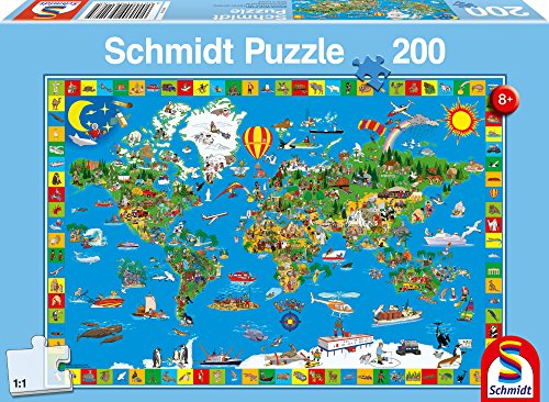SCHMIDT Children's Your Amazing World Puzzle (200-Piece) - 1