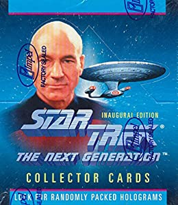 Star Trek the Next Generation Collector Trading Cards Box 36 packs