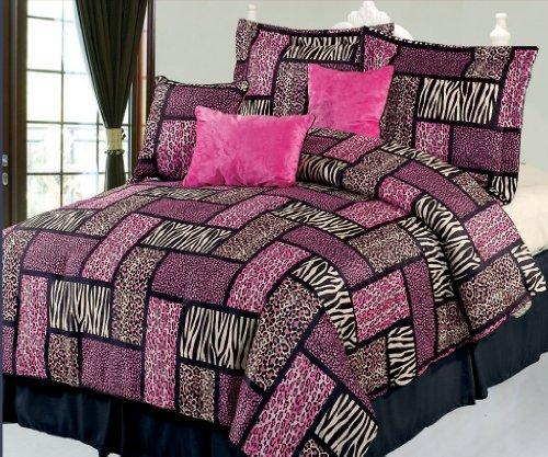 Pink Zebra Bed In A Bag front-448873
