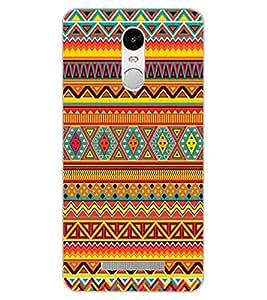 ColourCraft Tribal Pattern Design Back Case Cover for XIAOMI REDMI NOTE 3 PRO