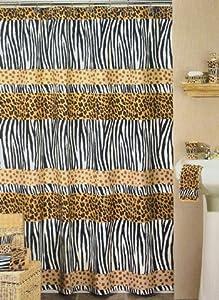Cheetah Pink Shower Curtain by Sweet Jojo Designs