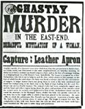 Vintage JACK THE RIPPER MURDER LONDON PUBLIC NOTICE 250gsm Gloss ART CARD A3 Reproduction Poster