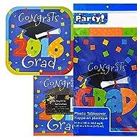 Graduation Party Kit 2016 Plates, Nap…
