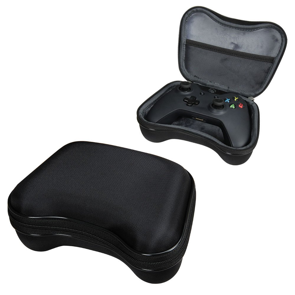 For Microsoft Xbox One Wireless Controller Travel EVA Protective Case Carrying Pouch Cover Bag Compact size by Hermitshell