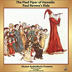 Paul Revere's Ride and The Pied Piper of Hamlin Audiobook