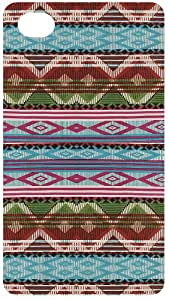 Bright Tribal Rug Pattern Back Cover Case for Apple iPhone 4 / 4s