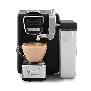 Bonhomia Brewski BB02IG Single serve cappuccino espresso capsule coffee brewer (Black)