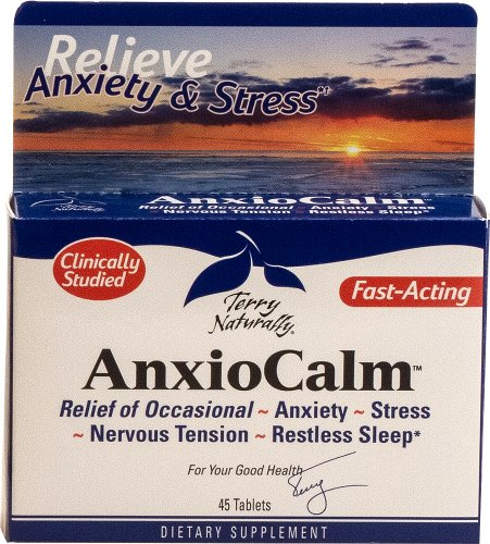 Anxiocalm By Terry Naturally (45 Tablets) (Echinacea Extract)
