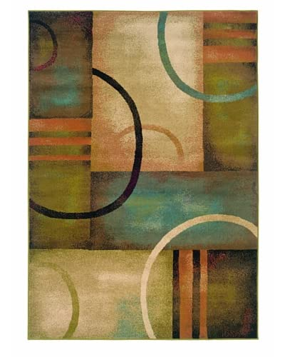 Granville Rugs Aiden Rug, Brown, 5' x 7' 6