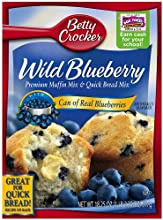 Betty Crocker Muffin Mix Blueberry 169-Ounce Boxes Pack of 12