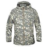 【TPGROWIN】 メンズ シエルスーツ ジャケット アウター スポーティー ミリタリー 迷彩 全6カラー 迷彩グレー L
