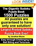 The Gigantic Sudoku Puzzle Book. 1500...