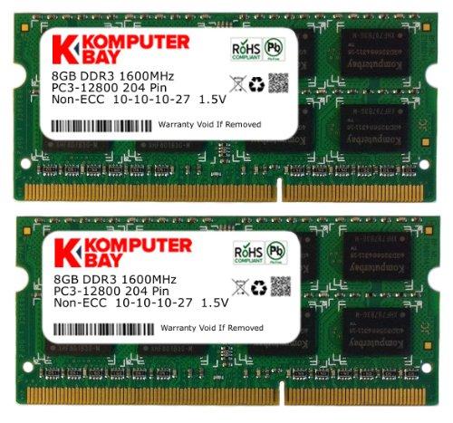 Corsair 8GB SO-DIMM 1333 MHz PC3-10666 DDR3 SDRAM Memory CMSA16GX3M2A1333C9