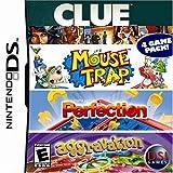 Clue/Mouse Trap/Perfection/Aggravation - Nintendo DS ~ Nintendo