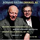 Brahms: Concerto No. 2 for Piano and Orchestra, Op. 83 & Sonata in D Major, Op. 78