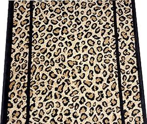dean cheetah carpet rug hallway stair runner custom lengths purchase by the. Black Bedroom Furniture Sets. Home Design Ideas