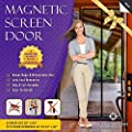Magnetic Screen Door, Mesh Curtain - Keeps Bugs & Mosquitoes Out, Lets Cool Breeze In - 6 Month Money Back Guarantee - Premium Quality - Toddler And Pet Friendly from Menke Marketing