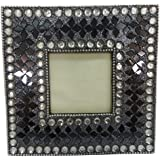 Decorative Picture Frame Indian Handmade Lac Beaded Material Antique Photo Frame Home Decor Table Top Decortaive Single Picture Frame 3 X 3 - B01FNSBMM8