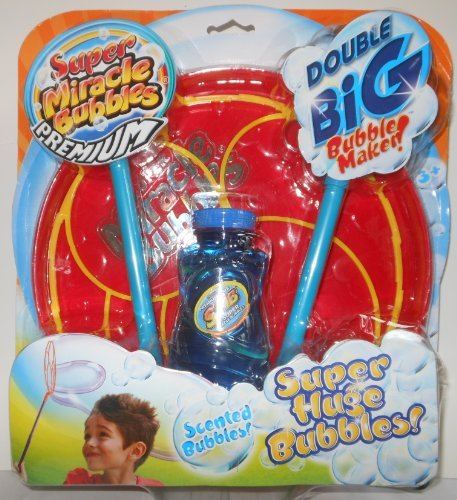 Super Miracle Bubbles Double Big Bubble Maker by Imperial Toy