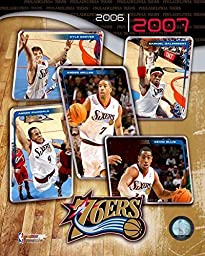06 / \'07 76ers Team Composite Photo by Photo File