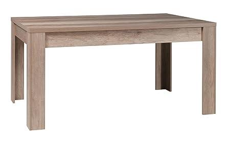 Tisch 160x90 cm MDF, Farbe: Eiche