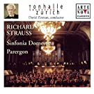 Richard Strauss: Sinfonia Domestica; Parergon