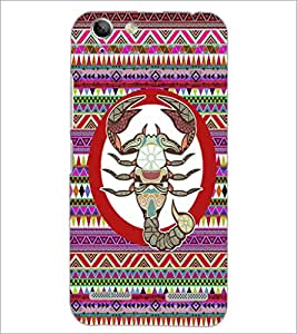 PrintDhaba Zodiac Scorpio D-3456 Back Case Cover for LENOVO VIBE K5 PLUS (Multi-Coloured)