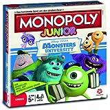 Winning Moves 43003 - Monopoly Junior Monsters University