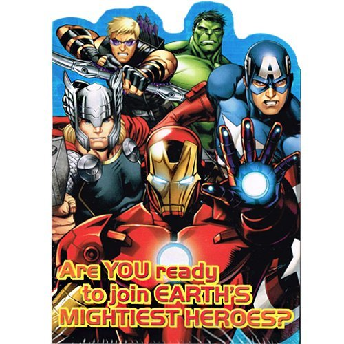 Avengers 'Assemble' Invitations and Thank You Notes w/ Envelopes (8ct ea.) - 1