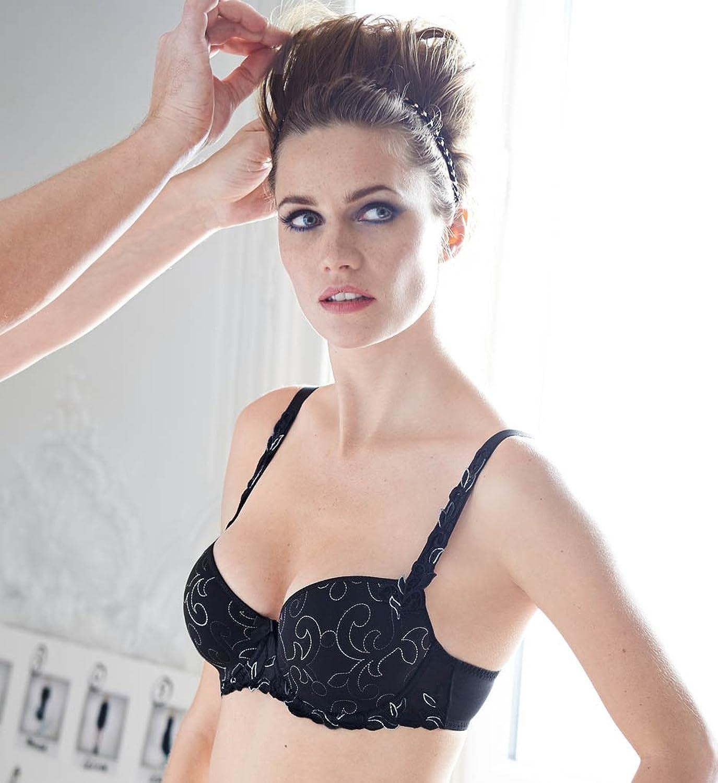 Simone Pérèle - Andora - Spacer BH - Noir Couture