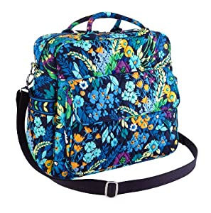 vera bradley convertible baby bag in midnight blues diaper tote bags baby. Black Bedroom Furniture Sets. Home Design Ideas