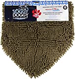 Soggy Doggy Super Shammy Super Absorbent Dog Towel, Dark Chocolate