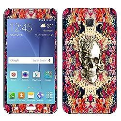 Theskinmantra Dead Floral Samsung Galaxy J7 mobile skin