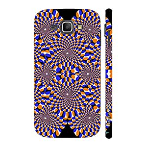 Enthopia Designer Hardshell Case Pscychedelic Circles Back Cover for Samsung Galaxy J1 (2016)