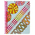 Girls Only Personal Wirebound Notebook, 100 Sheets, College Rule, 7 x 5 Inches, 1 Notebook, Cover Color May Vary (11682)