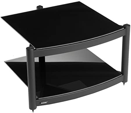 Equinox A.R.C Black 2 Shelf R.S HiFi Stand