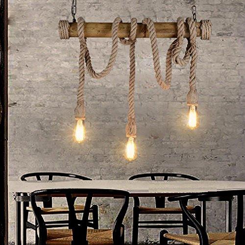 Lightess lampada a sospensione in stile vintage for Lampadari pendenti
