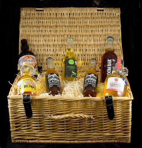 Cornish Ale, Cider & Lager Hamper In A Standard Carton