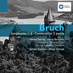 Bruch: Symphonies and Concerto for 2 pianos