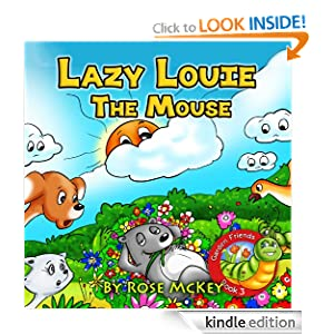 Kids Book Lazy Louie The Mouse Childrens Books Collection The Garden Friends Series 6