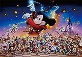 500ピース ジグソーパズル ステンドアート ディズニー Mickey's Party ぎゅっとシリーズ (25x36cm)