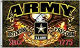 United States Army Defending Freedom 3 x 5 Foot Flag