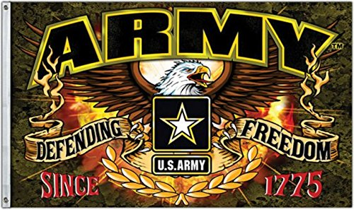 United States Army Defending Freedom 3 x 5 Foot Flag US USA