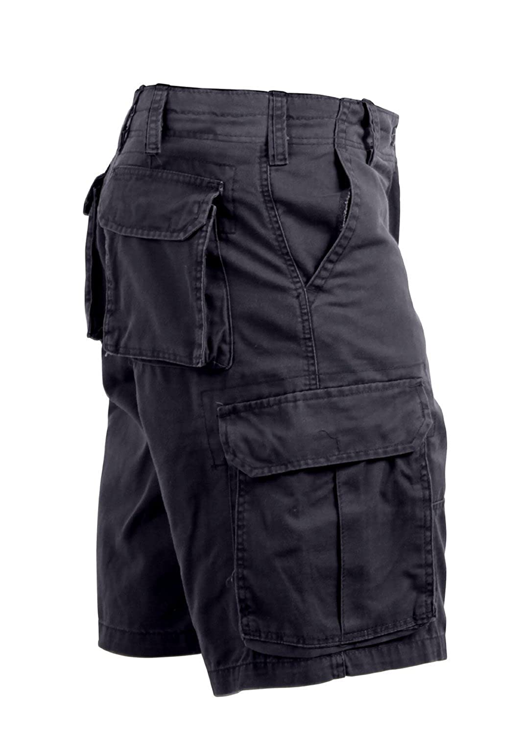 Rothco Ultra Force Vintage Black Cargo Shorts