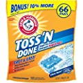 Arm & Hammer 33200-51912 Toss N Done Power Paks, Clean Burst, 42.3 oz (Pack of 4)