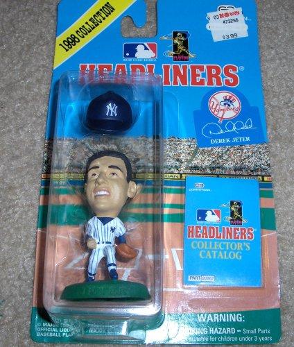 Picture of Corinthian 1998 Derek Jeter MLB Headliners Figure (B000OR4GFY) (Corinthian Action Figures)