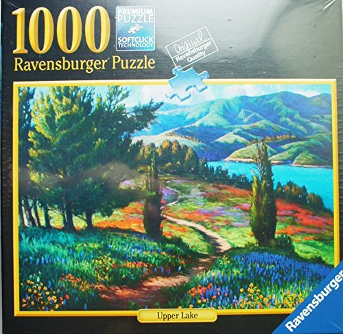 "Ravensburger Puzzle ""Upper Lake"" 1000 Piece Jigsaw Puzzle Premium Softclick Technology Pieces"